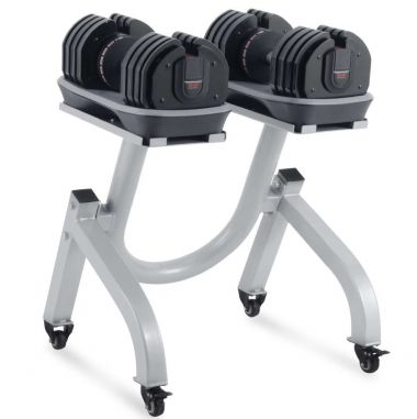 Titanium Strength Mancuernas Ajustables 2-36 kg + Rack