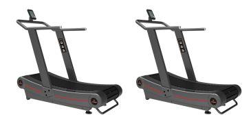 Titanium Strength Pack 2 Curved Treadmill