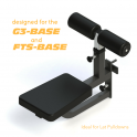 Force USA Adjustable Seat Attachment with Leg Holder