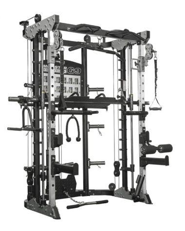 Force USA Monster Commercial G9: Máquina Smith, Multifunción, Rack y Prensa de Pierna