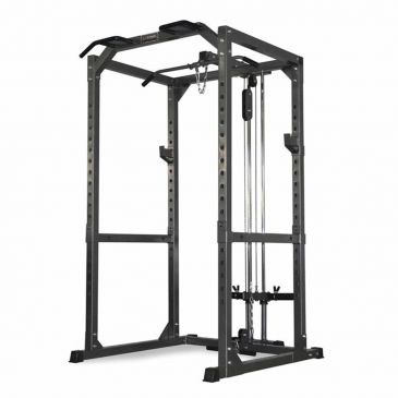Titanium Strength Full Heavy Duty Power Cage, Fitness, Workout, Home Gym, Rack, Squats, Functional