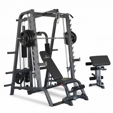 Titanium Strength Total Smith Machine, Home Gym, Workout, Fitness, Chest, Press, Squats, Smith Machine