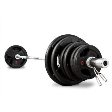 Titanium Strength 80kg Olympic Rubber Radial Kit