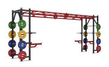 Titanium Strength Commercial Athletic Bridge Rack - X Line